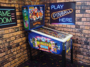 Monster Bash ~ 1/12th Scale Miniature Pinball Table Model